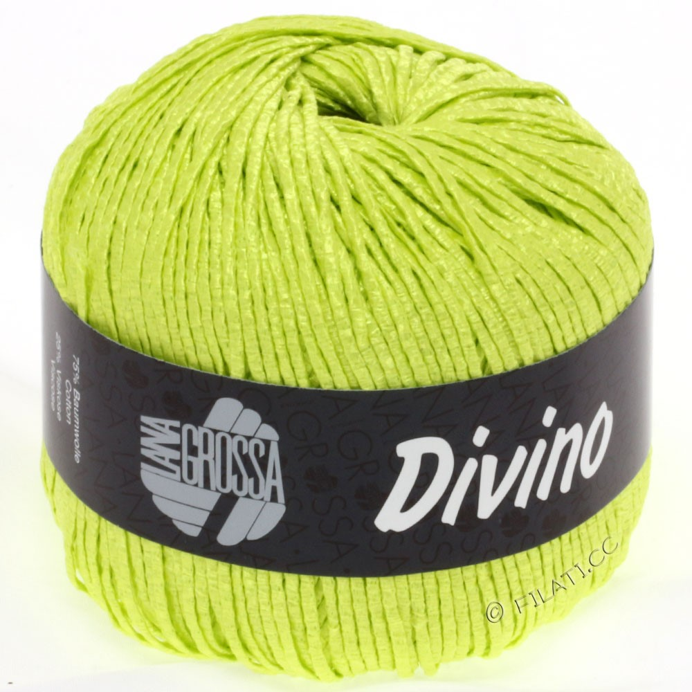 Lana Grossa DIVINO Uni | 38-yellow green