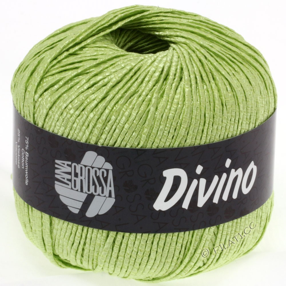Lana Grossa DIVINO Uni | 39-light green