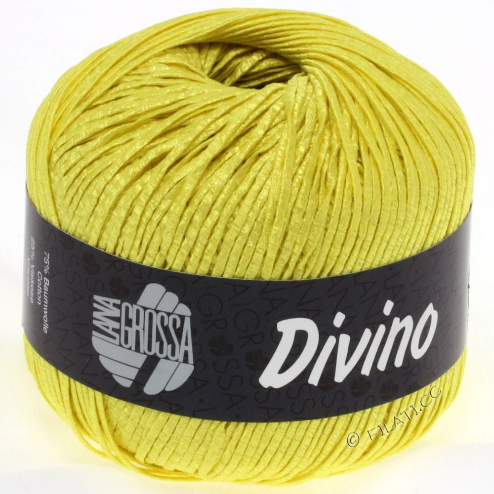 Lana Grossa DIVINO Uni | 41-yellow
