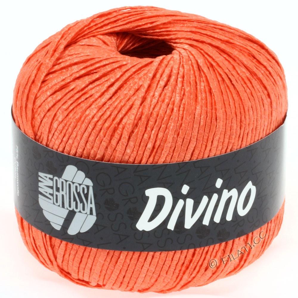 Lana Grossa DIVINO Uni | 48-mandarine