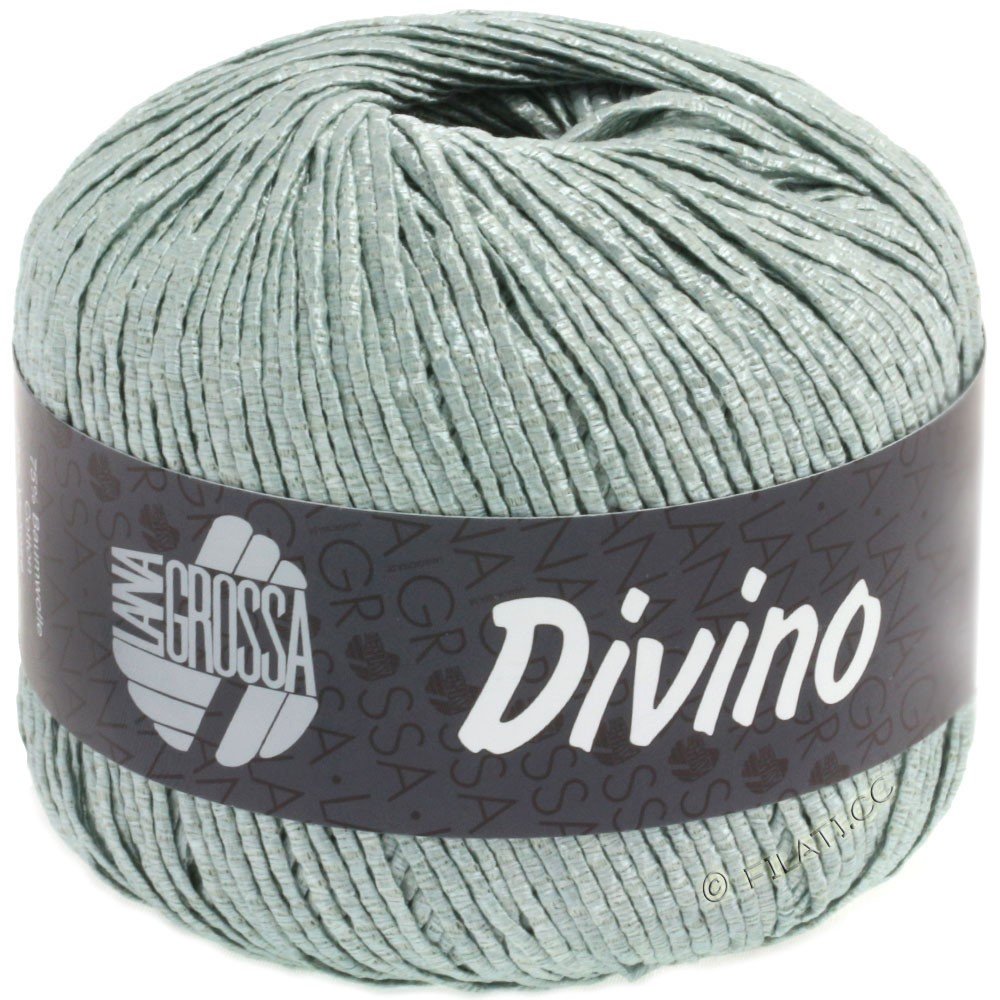 Lana Grossa DIVINO Uni | 54-gray green