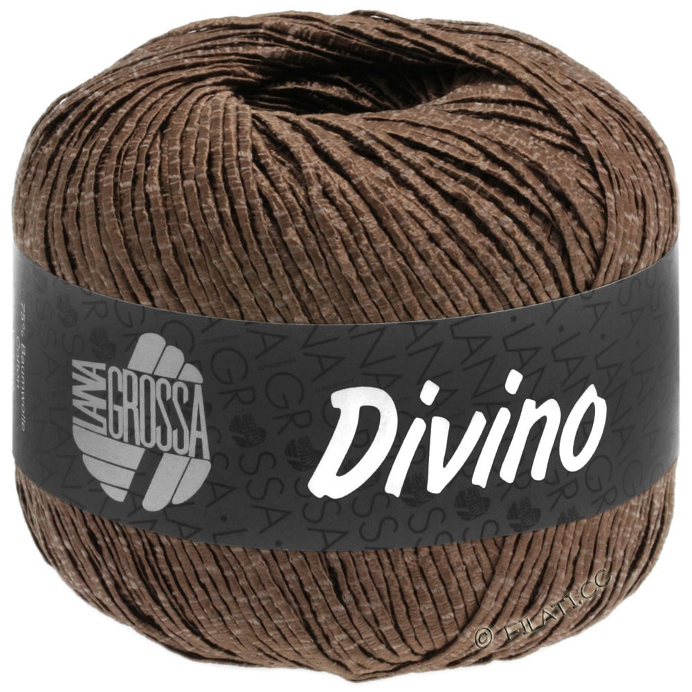 Lana Grossa DIVINO Uni | 57-chocolate brown