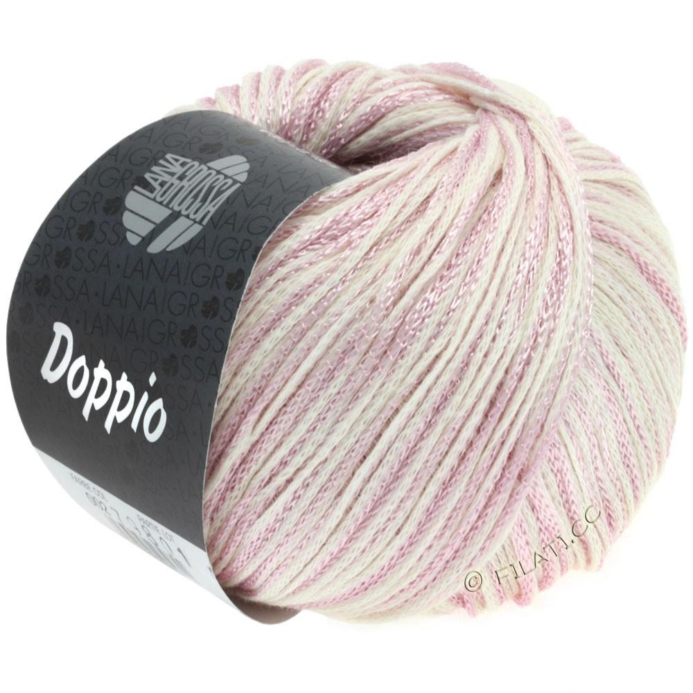 Lana Grossa DOPPIO/DOPPIO Unito | 002-lilac/raw white