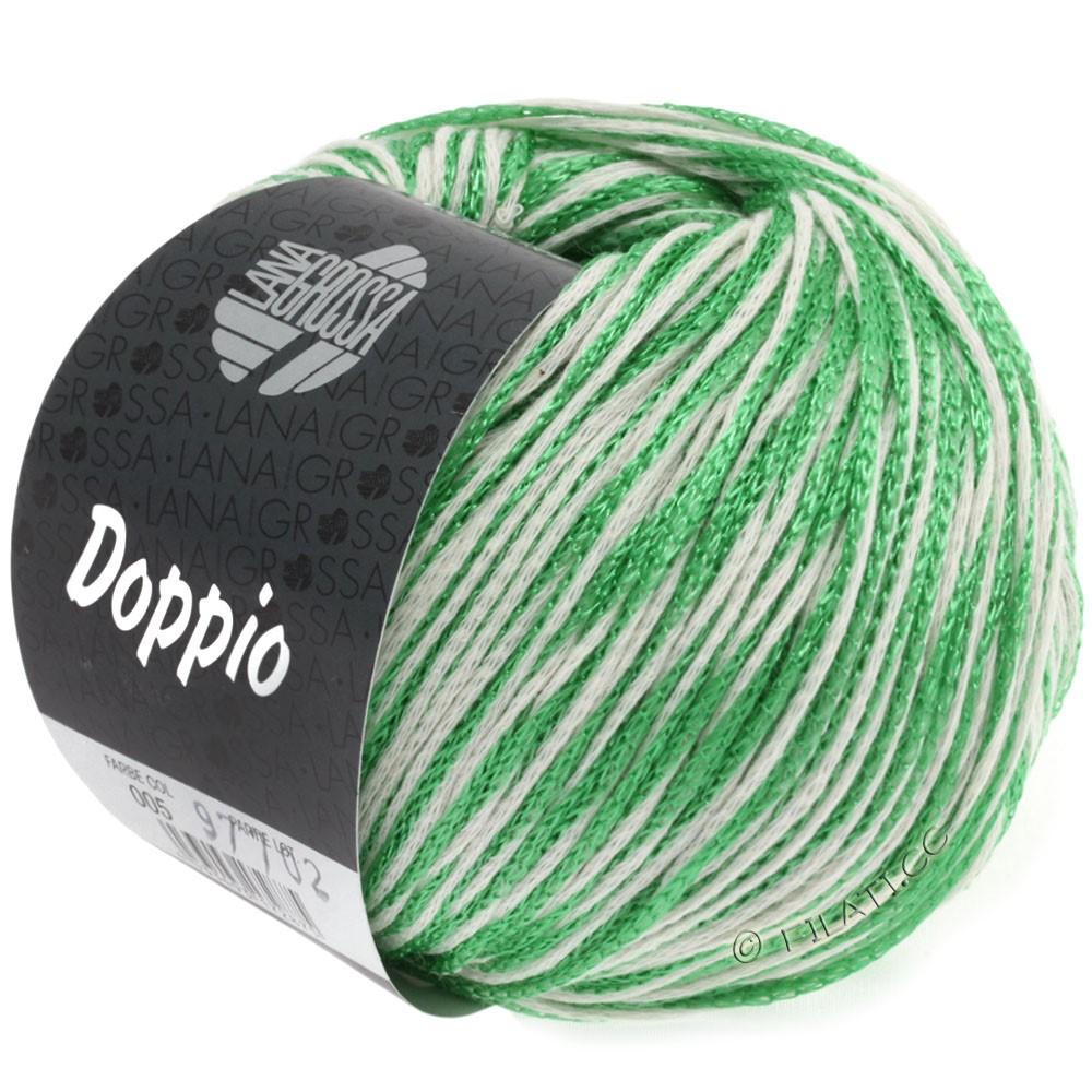 Lana Grossa DOPPIO/DOPPIO Unito | 005-green/white