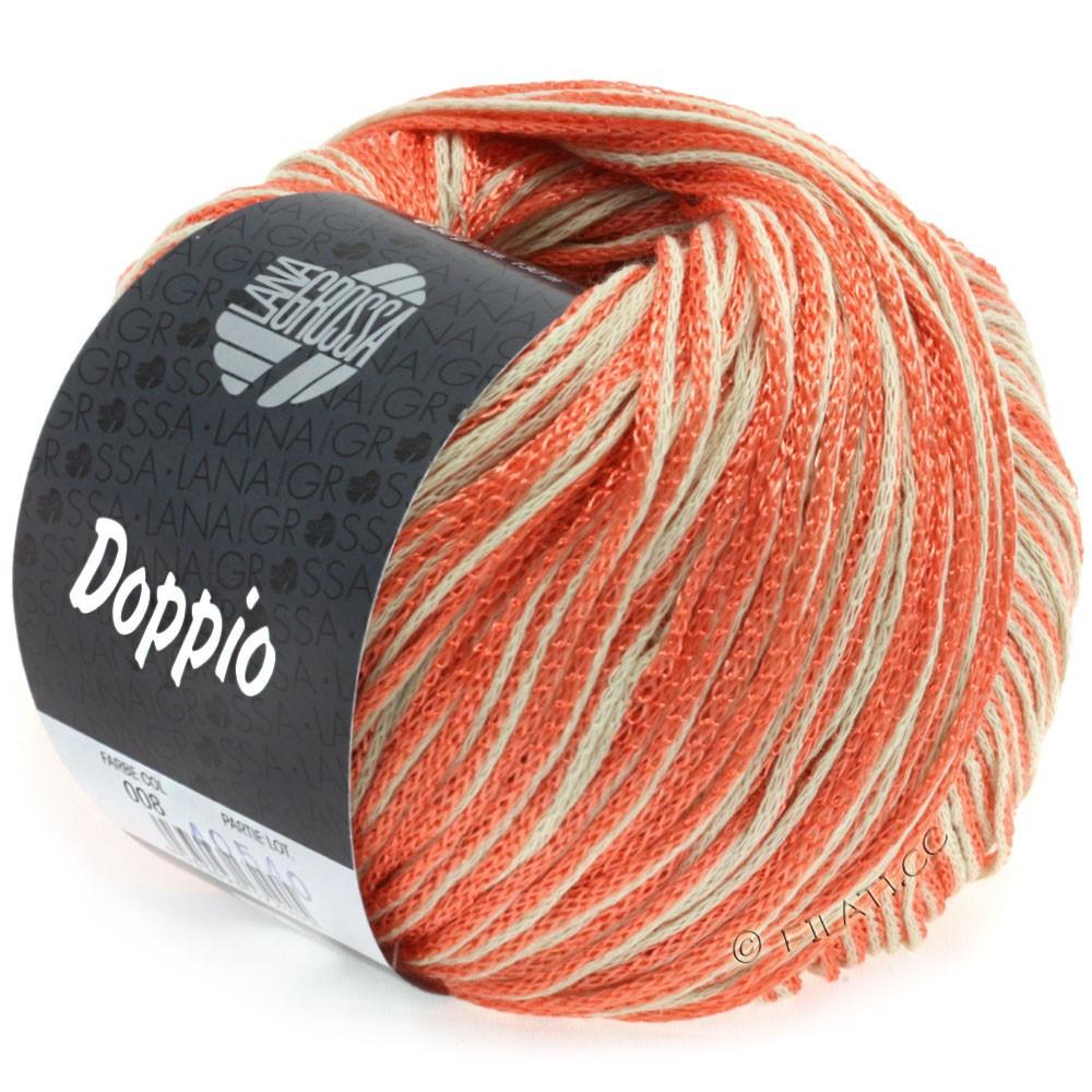 Lana Grossa DOPPIO/DOPPIO Unito | 008-salmon/nature