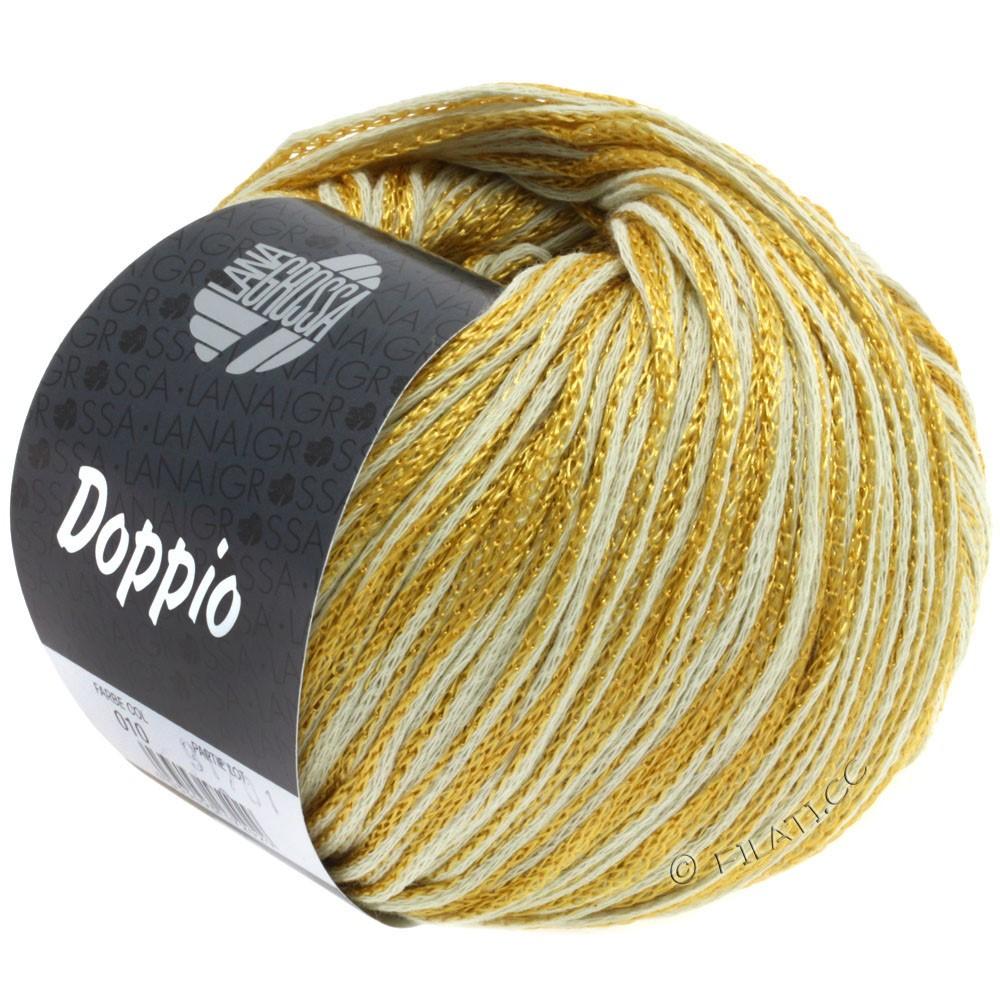 Lana Grossa DOPPIO/DOPPIO Unito | 010-mustard yellow/nature