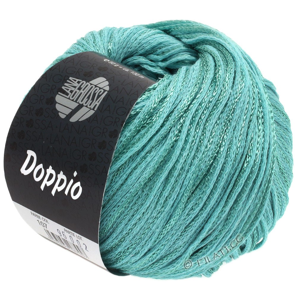 Lana Grossa DOPPIO/DOPPIO Unito | 107-turquoise