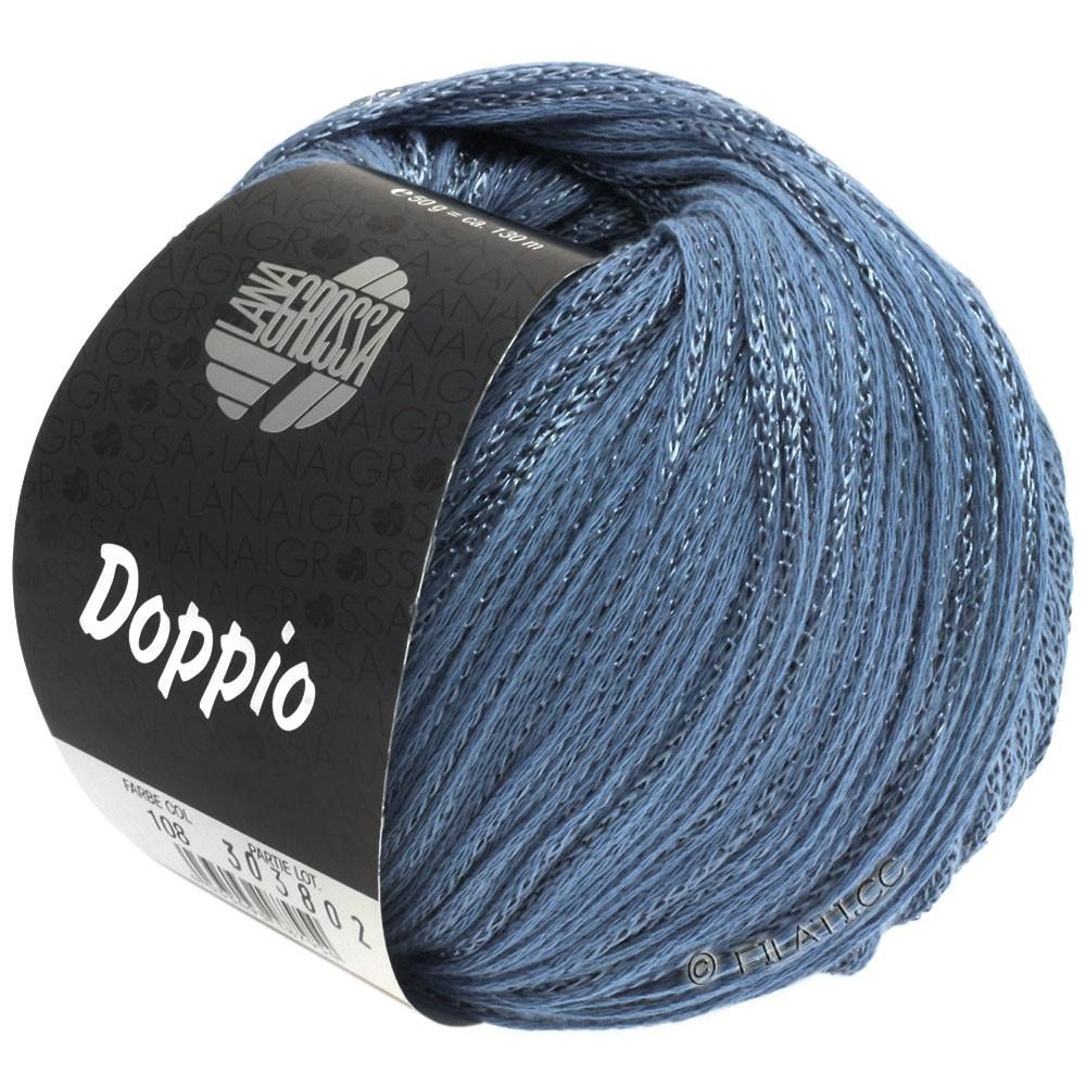 Lana Grossa DOPPIO/DOPPIO Unito | 108-blue