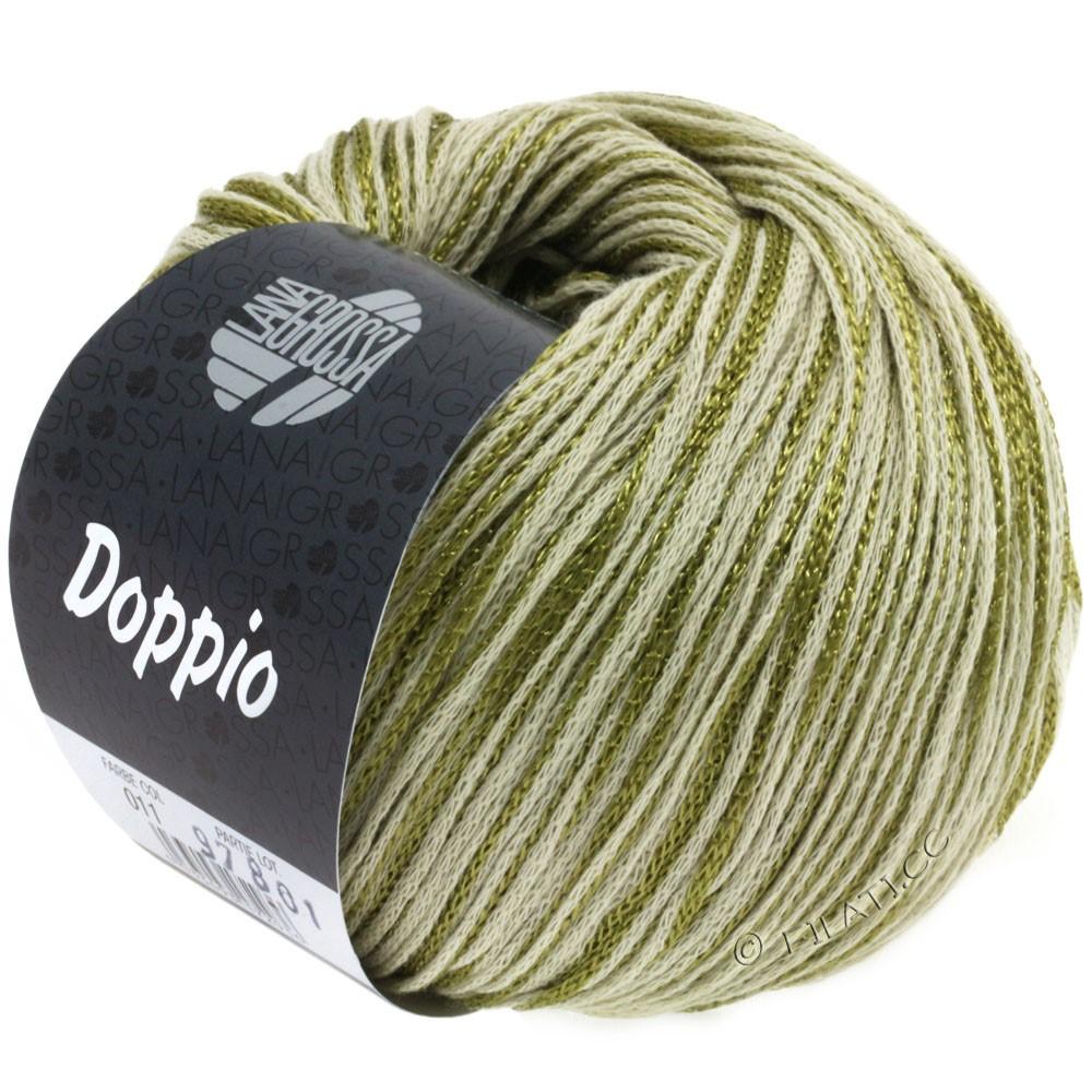 Lana Grossa DOPPIO/DOPPIO Unito | 011-olive/natural