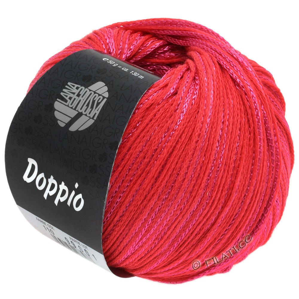 Lana Grossa DOPPIO/DOPPIO Unito | 110-strawberry red