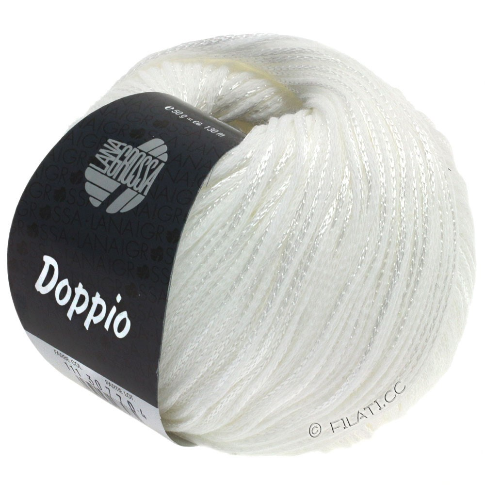 Lana Grossa DOPPIO/DOPPIO Unito | 111-white