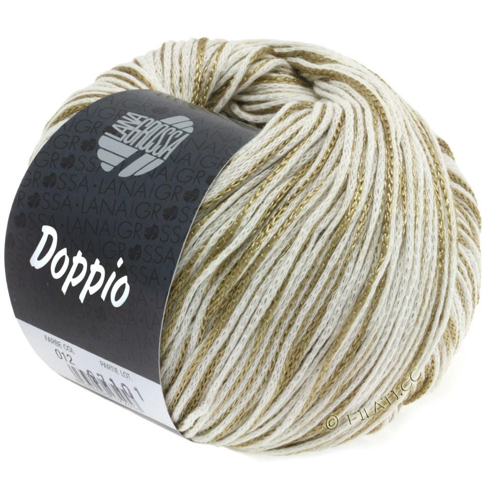 Lana Grossa DOPPIO/DOPPIO Unito | 012-natural/gold
