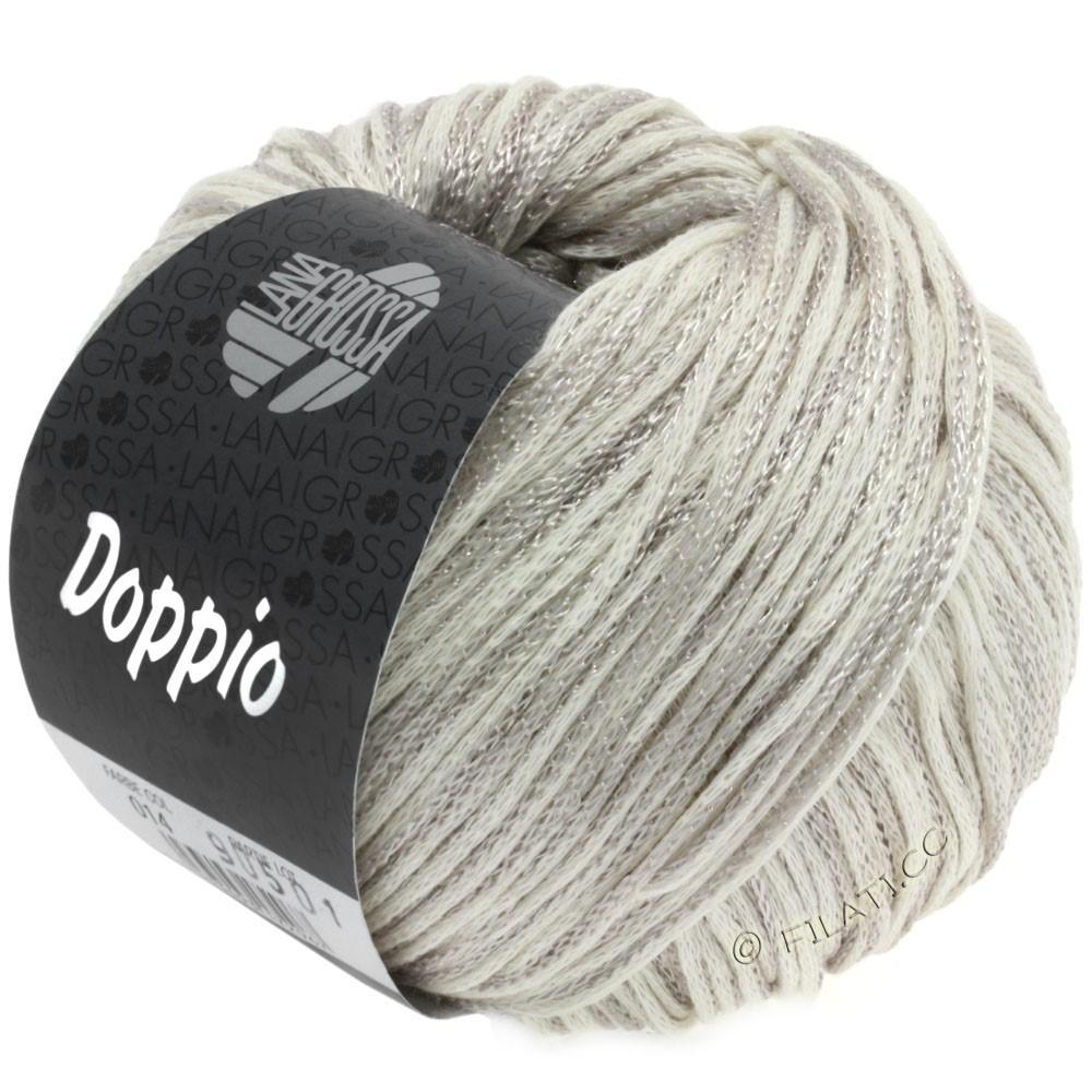 Lana Grossa DOPPIO/DOPPIO Unito | 014-grège/raw white