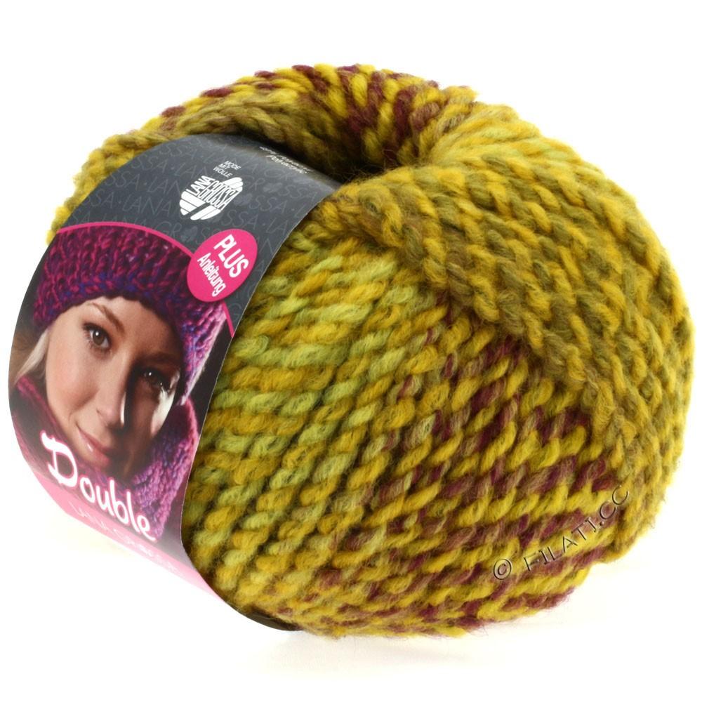 Lana Grossa DOUBLE   04-yellow/purple/bordeaux