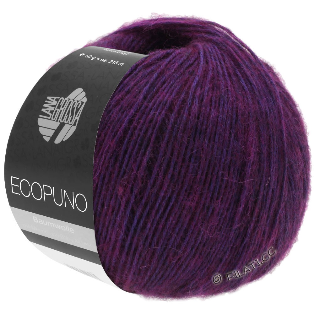 Lana Grossa ECOPUNO   23-red violet