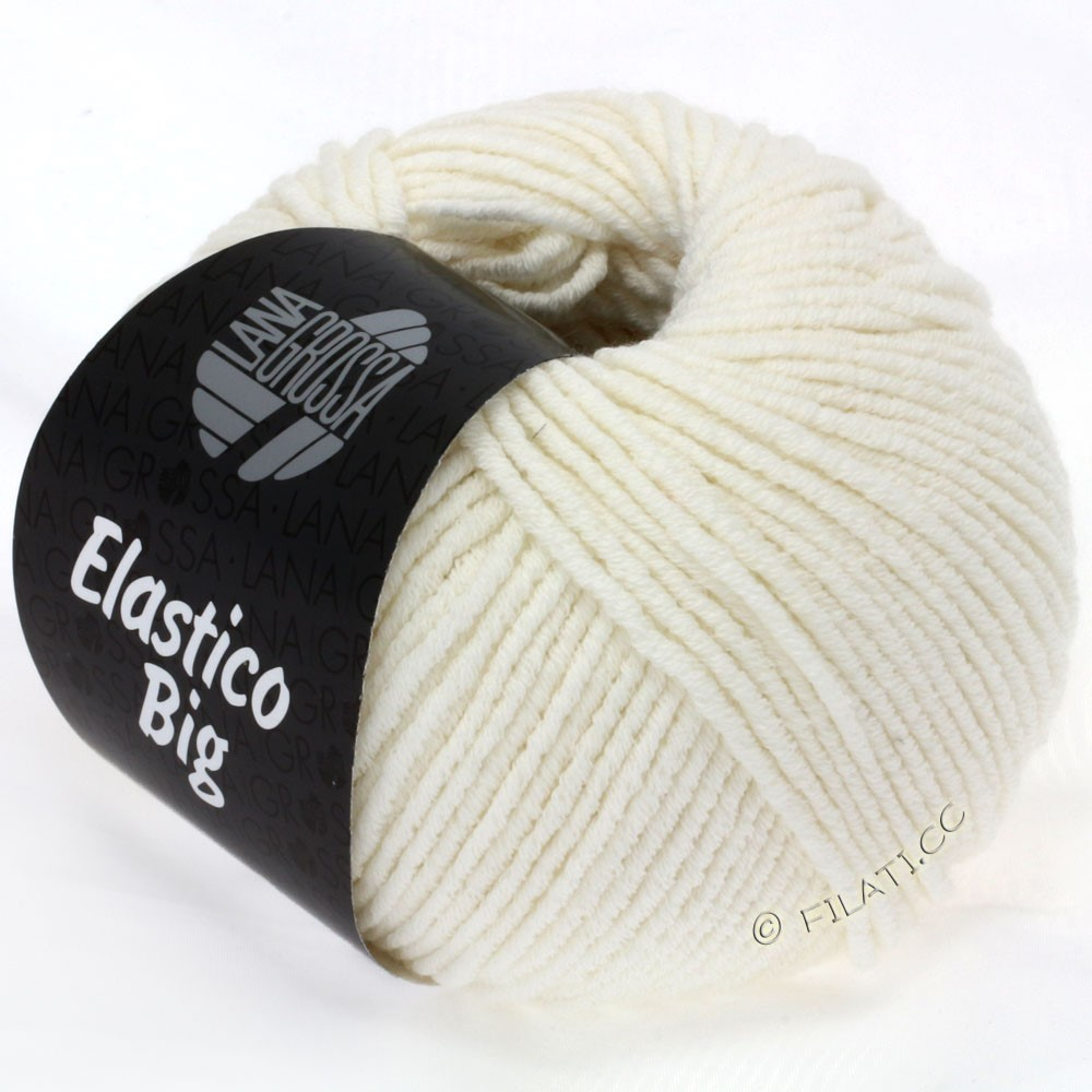 Lana Grossa ELASTICO Big | 02-raw white