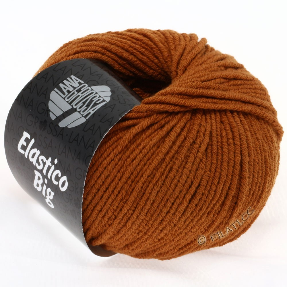 Lana Grossa ELASTICO Big | 39-cinnamon brown