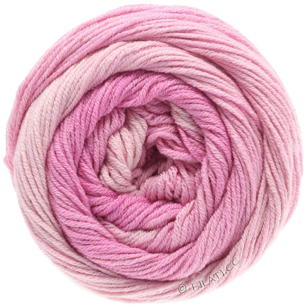 Lana Grossa ELASTICO Degradé | 701-subtle rose/rose/pink