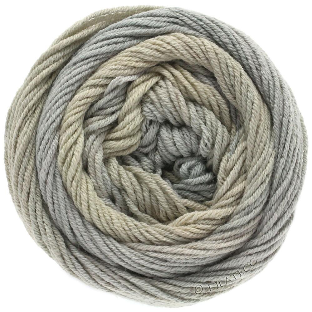 Lana Grossa ELASTICO Degradé | 705-beige/gray beige/green gray