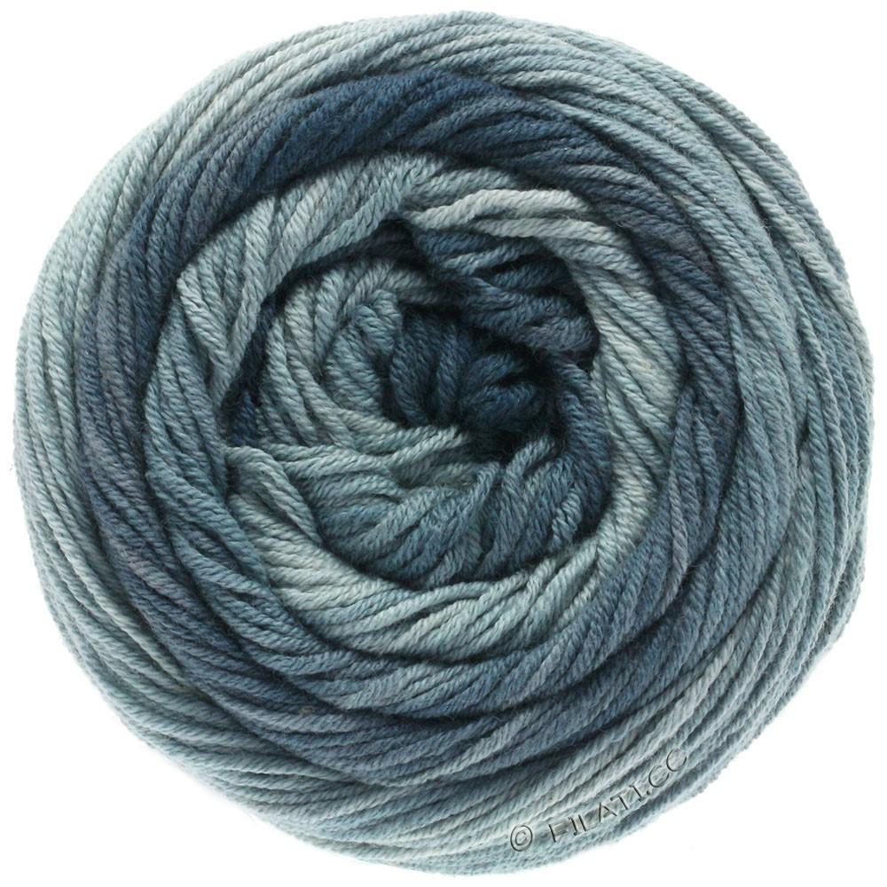 Lana Grossa ELASTICO Degradé | 708-light gray/medium gray/dark gray/slate