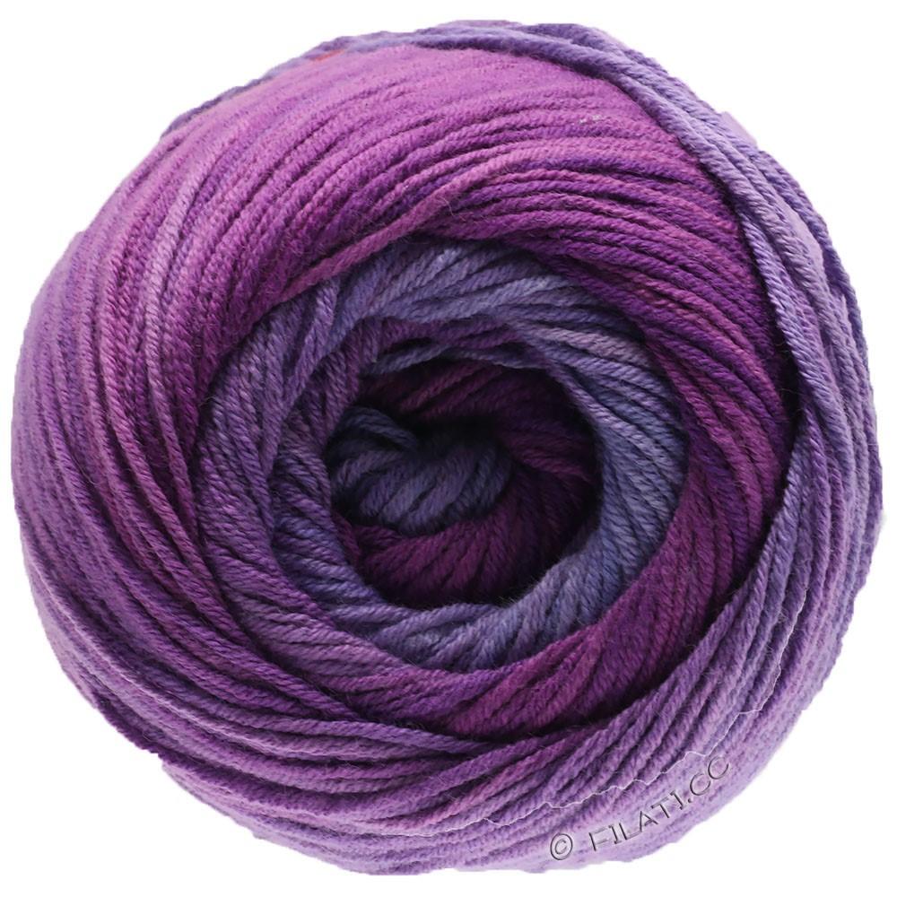 Lana Grossa ELASTICO Degradé | 711-lavender/lilac/red violet