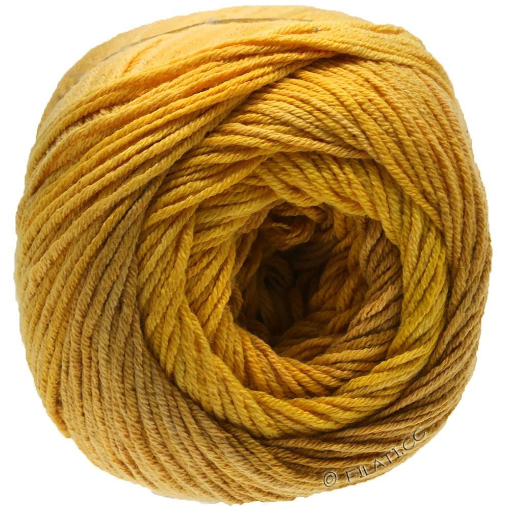 Lana Grossa ELASTICO Degradé | 713-yolk yellow/sand yellow/broom yellow