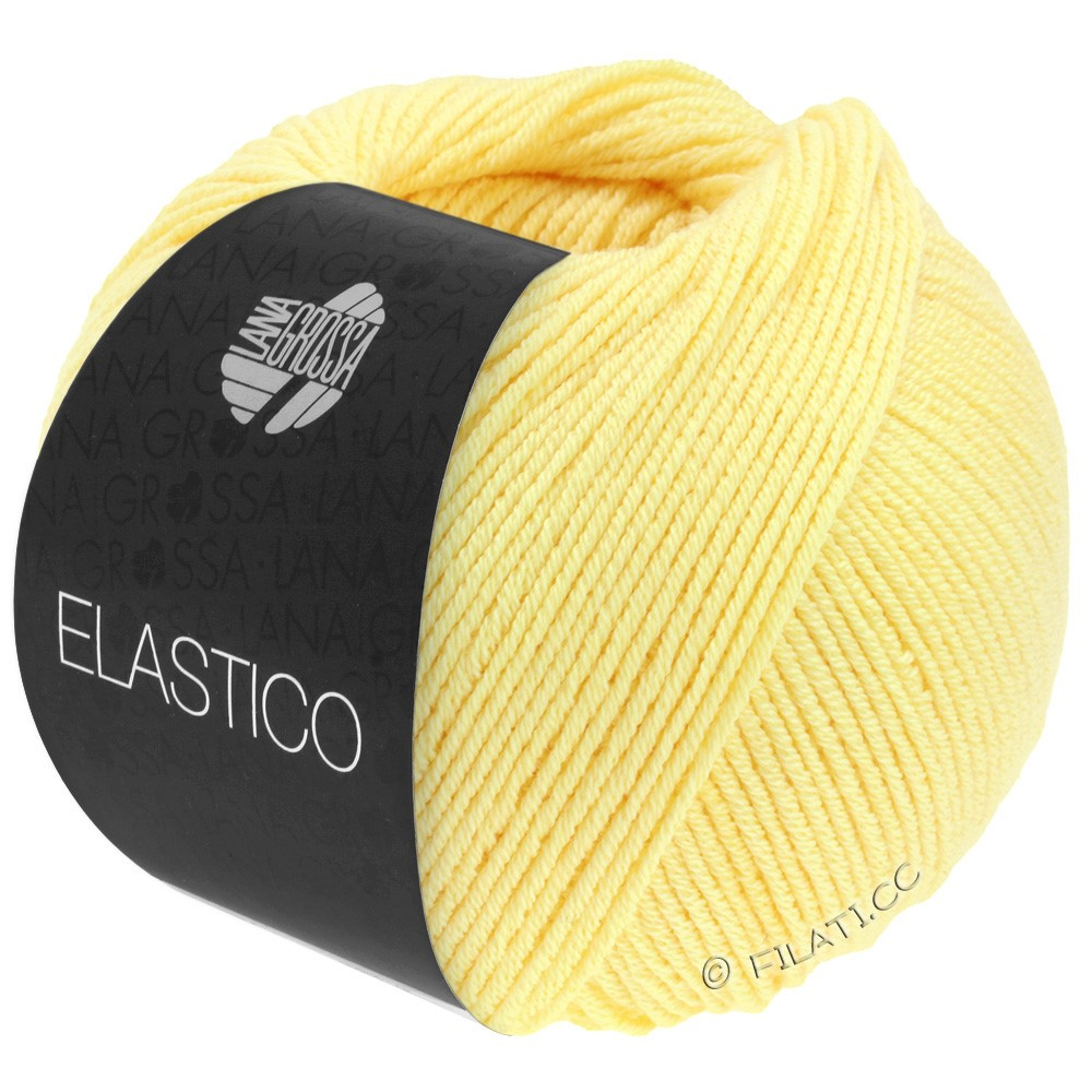 Lana Grossa ELASTICO Uni/Print | 041-yellow