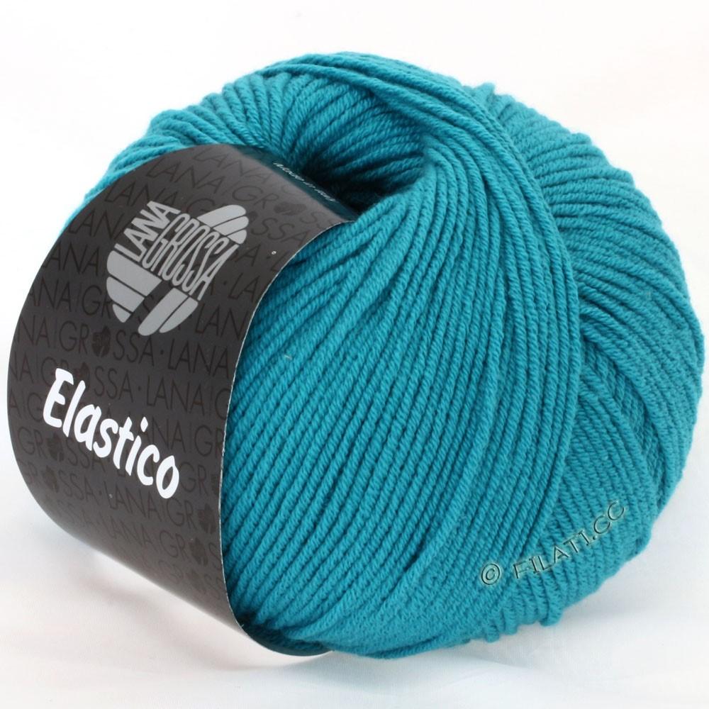 Lana Grossa ELASTICO Uni/Print | 093-petrol blue