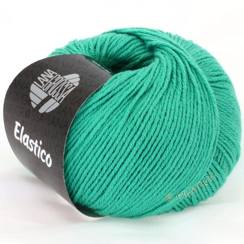 Lana Grossa ELASTICO Uni/Print | 106-emerald