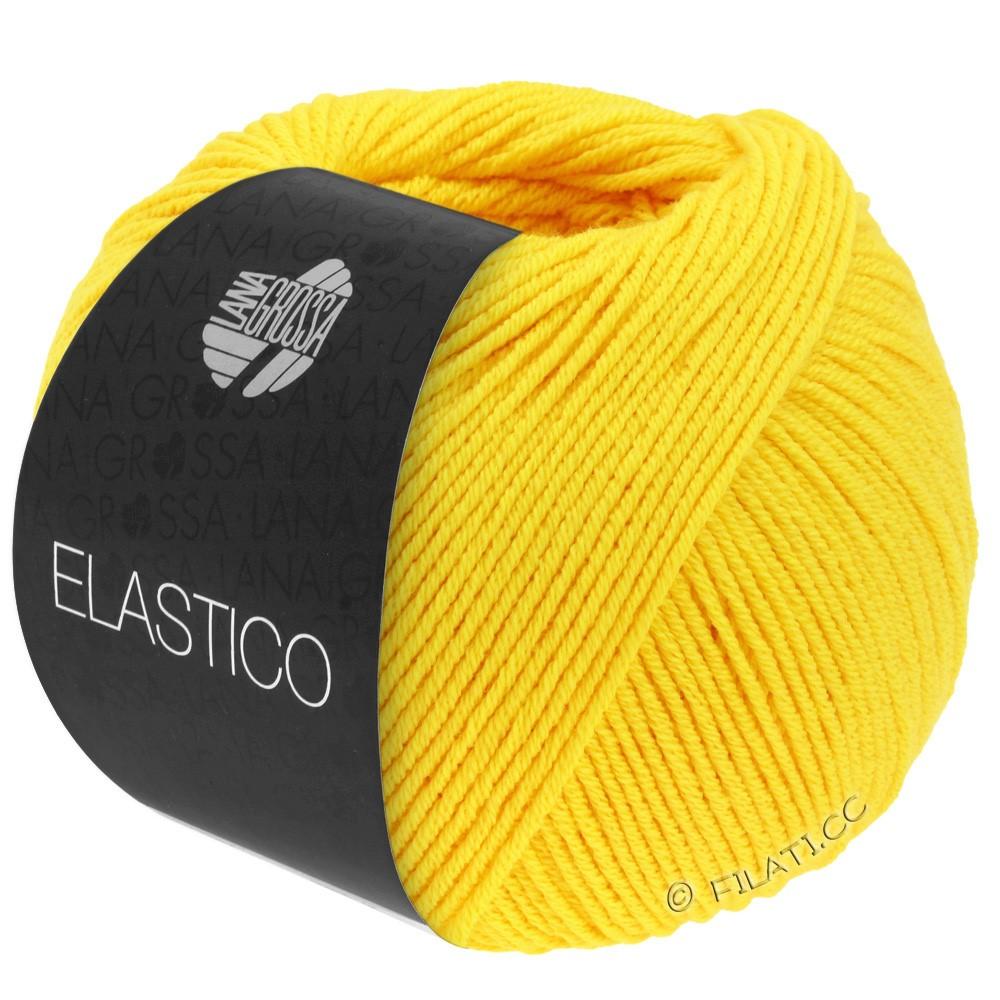 Lana Grossa ELASTICO  Uni/Print | 107-sun yellow