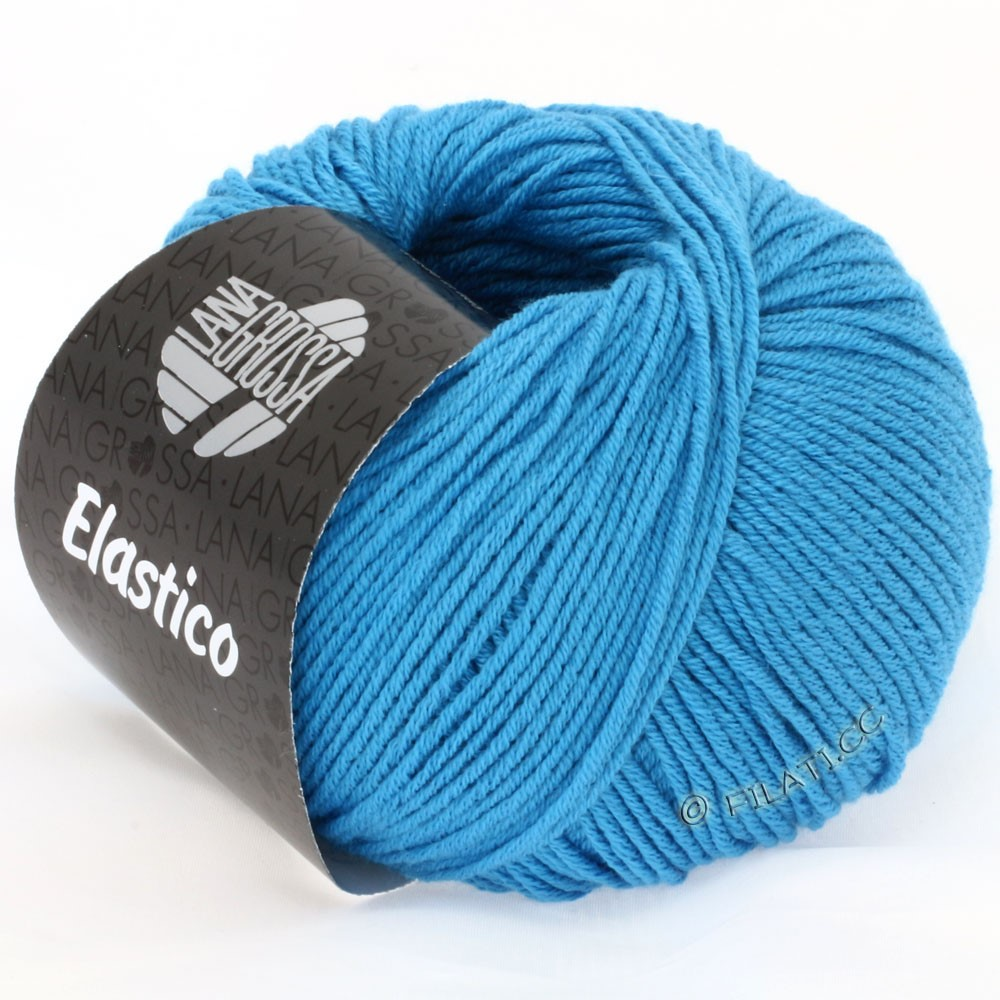 Lana Grossa ELASTICO Uni/Print | 115-azure blue