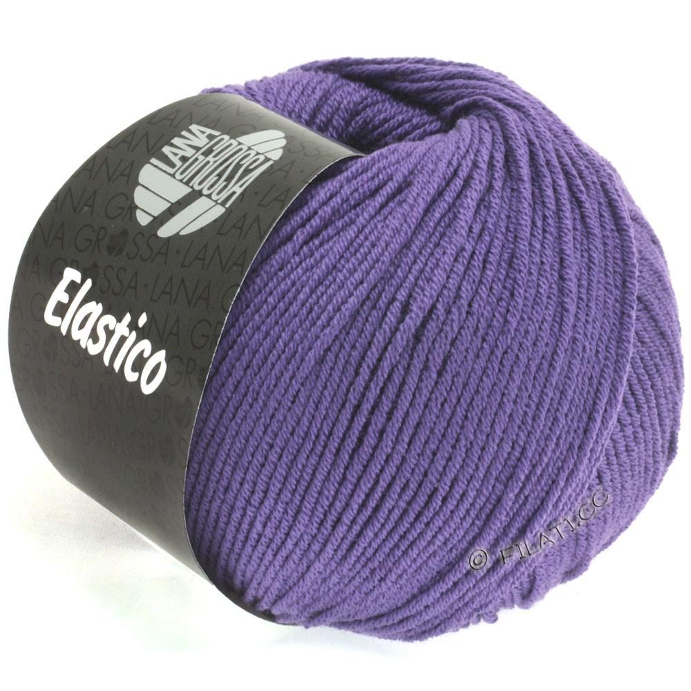 Lana Grossa ELASTICO  Uni/Print | 123-blue violet