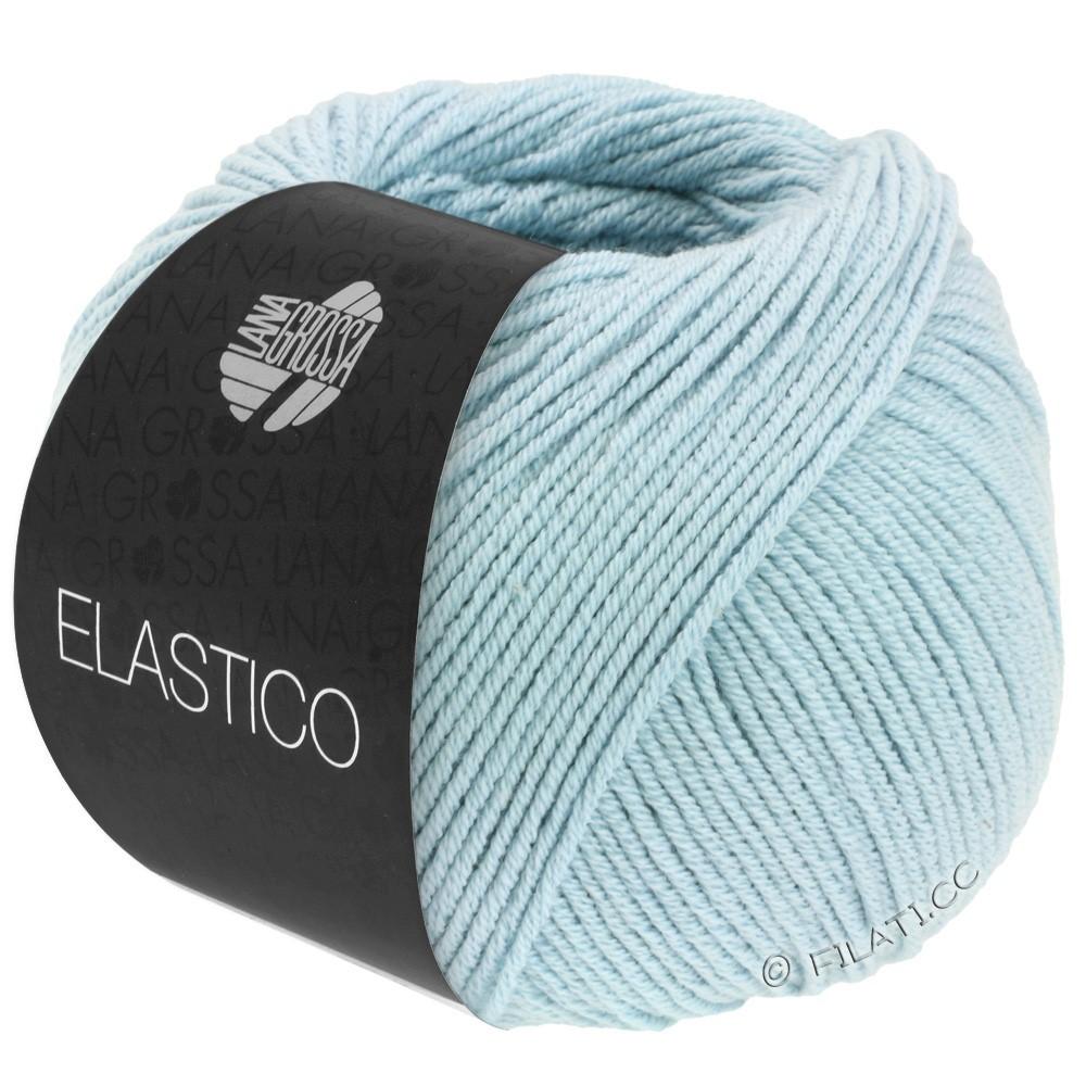 Lana Grossa ELASTICO  Uni/Print | 130-subtle blue