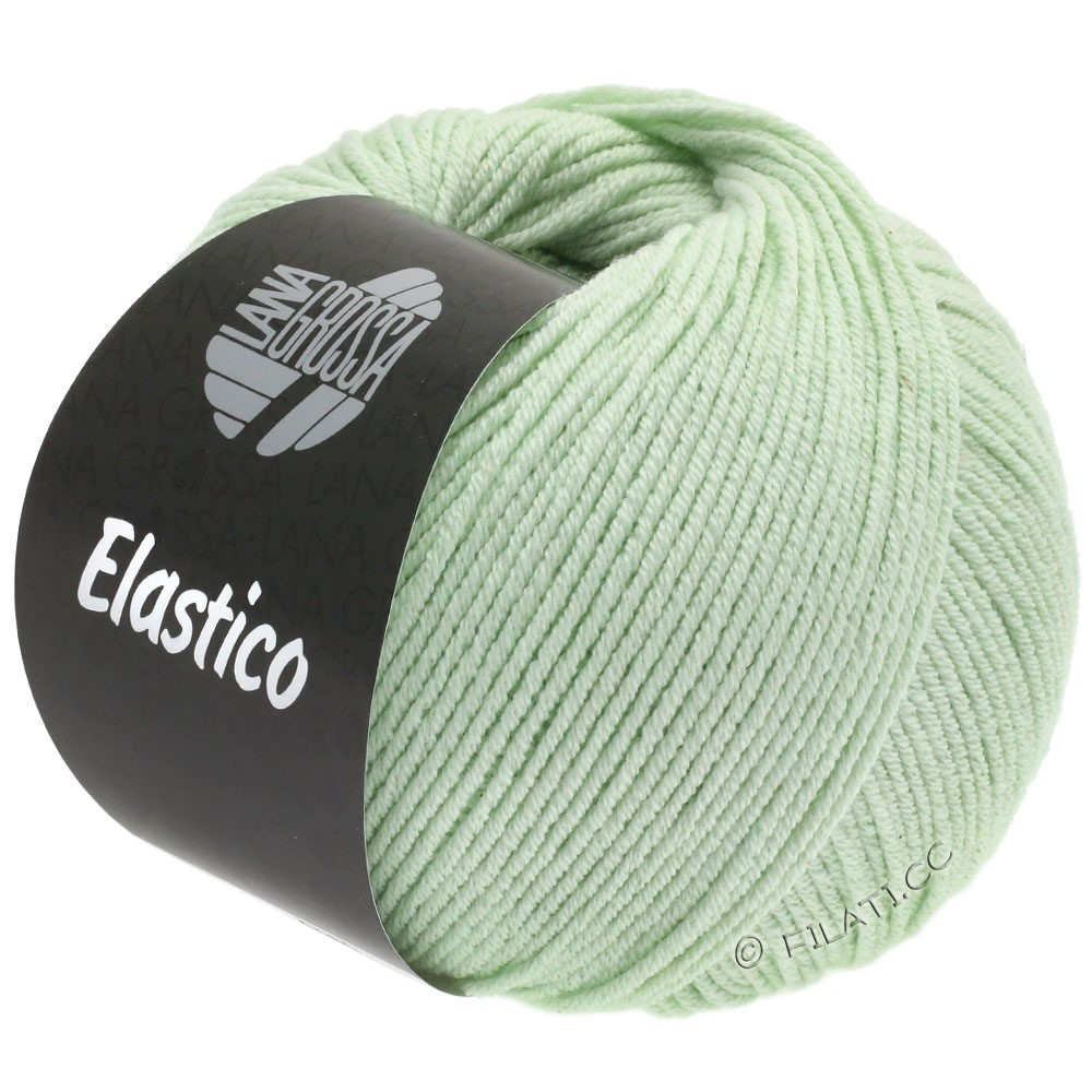Lana Grossa ELASTICO Uni/Print | 133-pale green