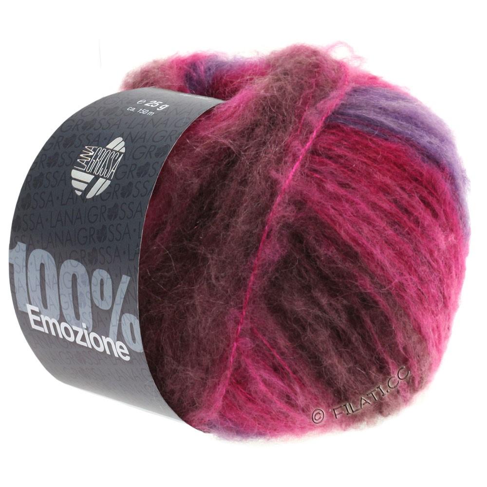 Lana Grossa EMOZIONE Degradé | 104-burgundy/purple/cyclamen