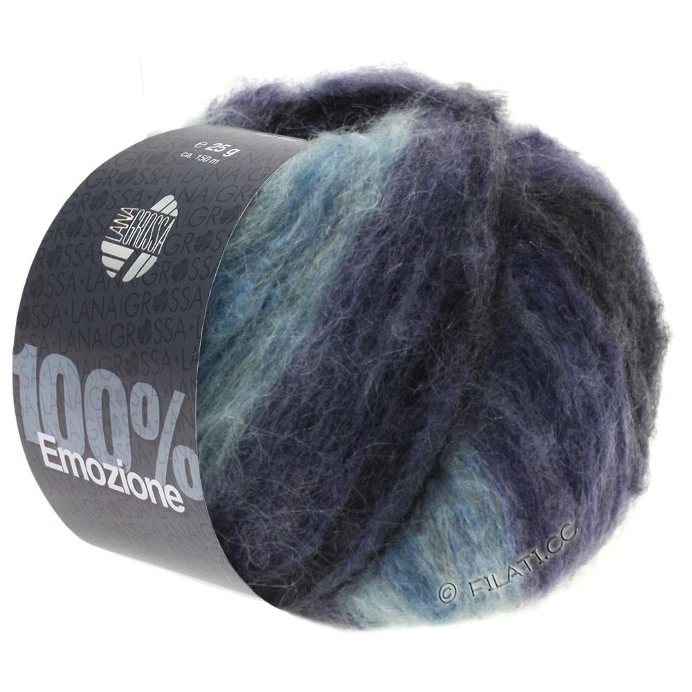 Lana Grossa EMOZIONE Degradé | 105-light blue/blue purple/anthracite