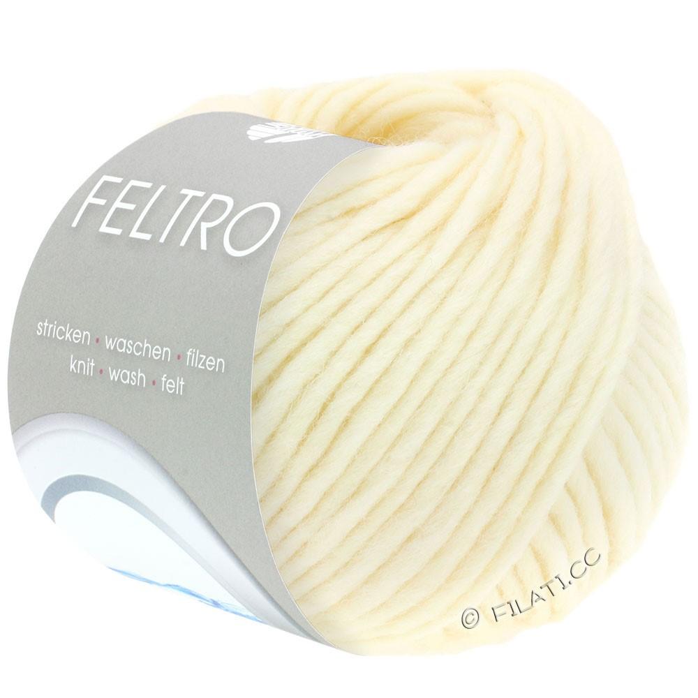 Lana Grossa FELTRO  Uni | 001-raw white