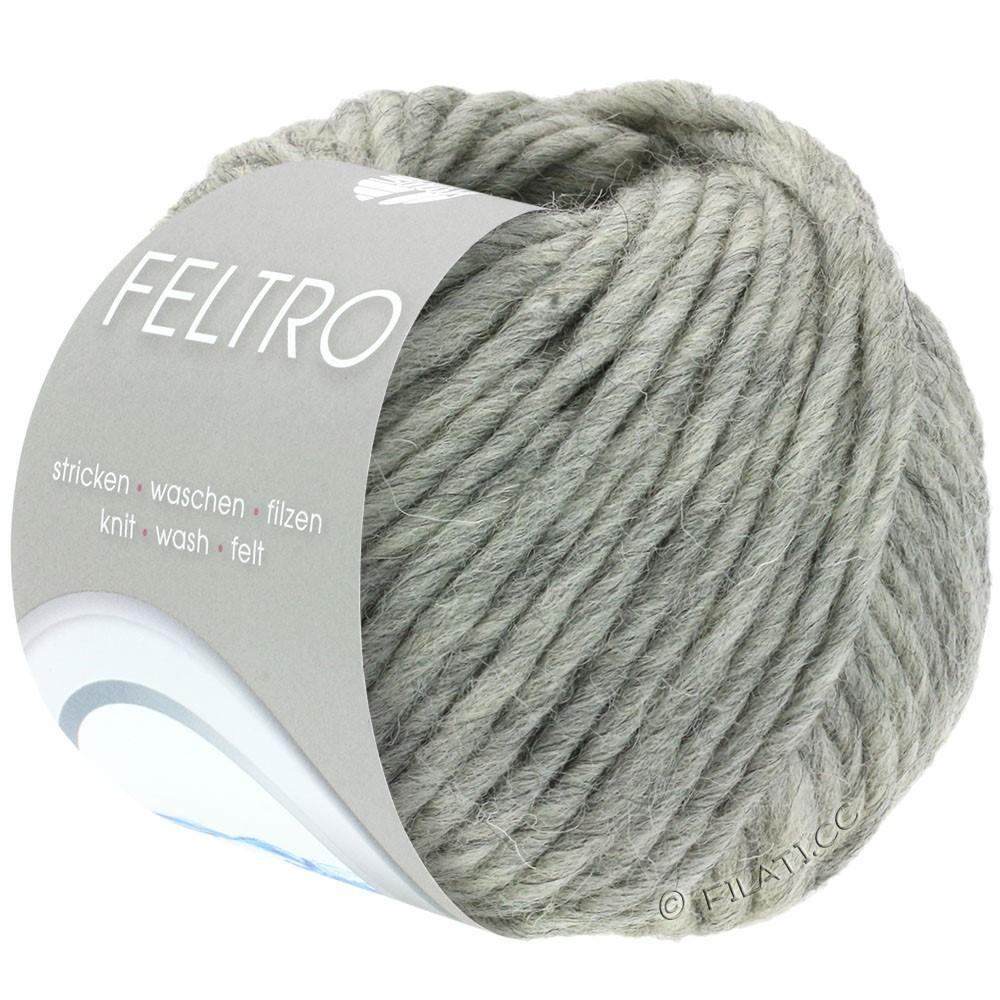 Lana Grossa FELTRO  Uni | 003-gray mottled