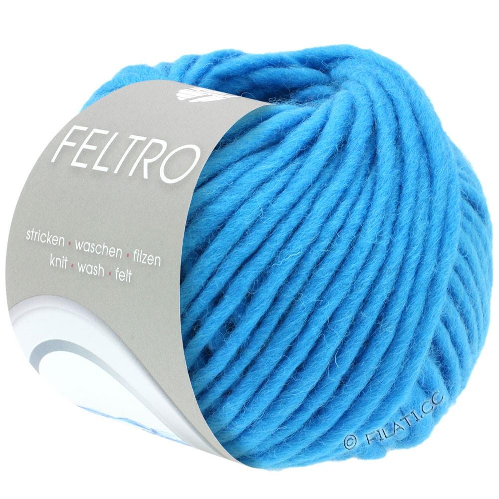 Lana Grossa FELTRO  Uni | 042-turquoise blue