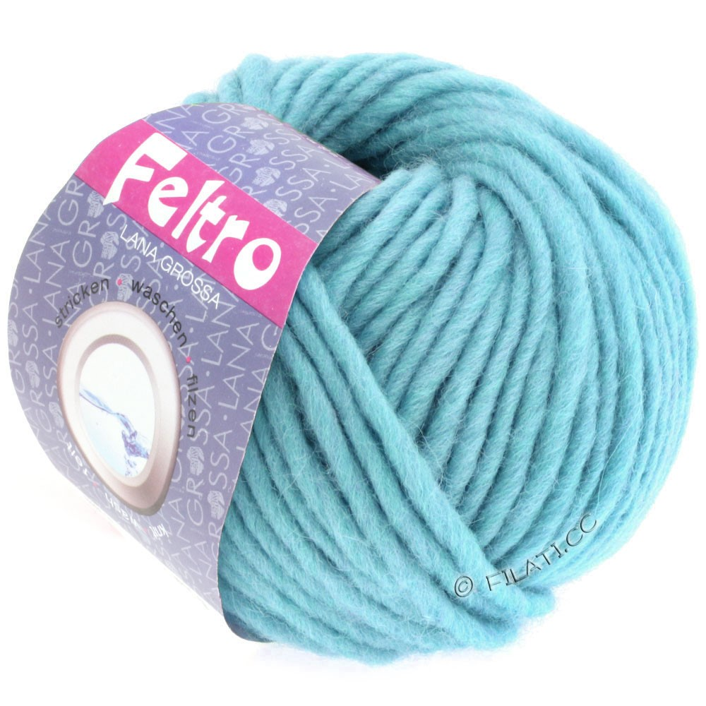 Lana Grossa FELTRO  Uni | 066-light blue