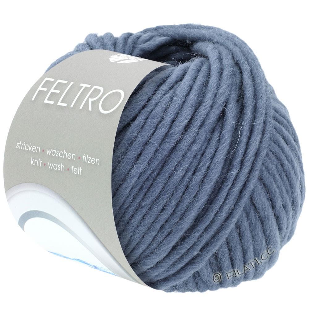 Lana Grossa FELTRO  Uni | 073-smoke blue
