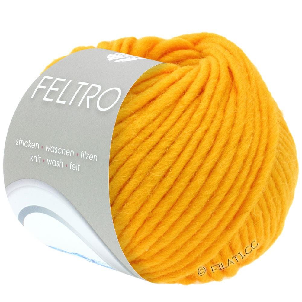 Lana Grossa FELTRO  Uni | 078-yolk yellow