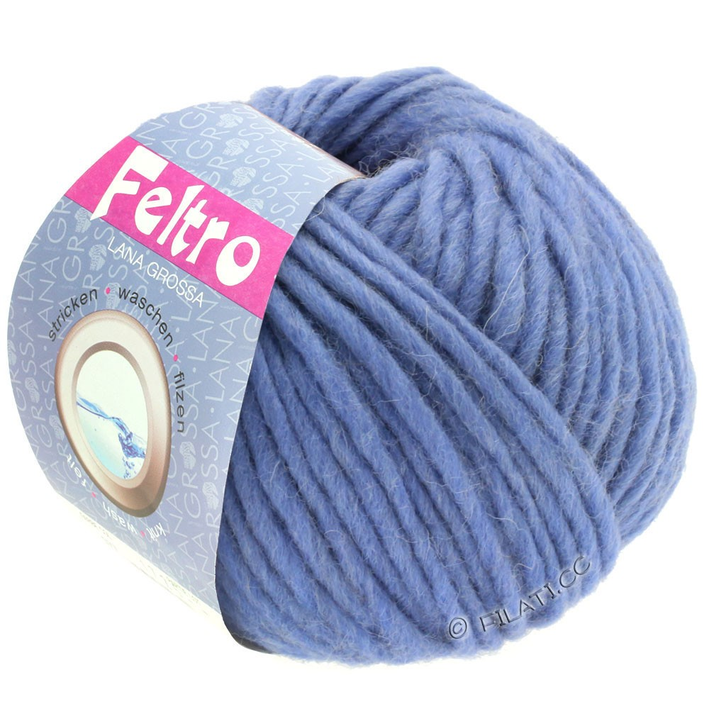 Lana Grossa FELTRO  Uni | 081-violet blue