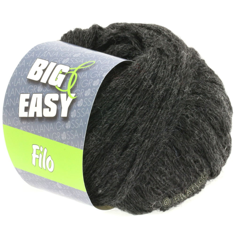 Lana Grossa FILO (Big & Easy) | 08-anthracite