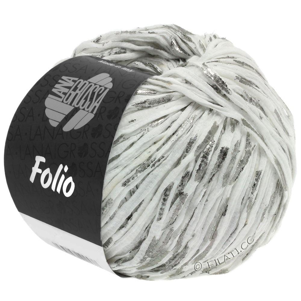 Lana Grossa FOLIO | 01-white/silver