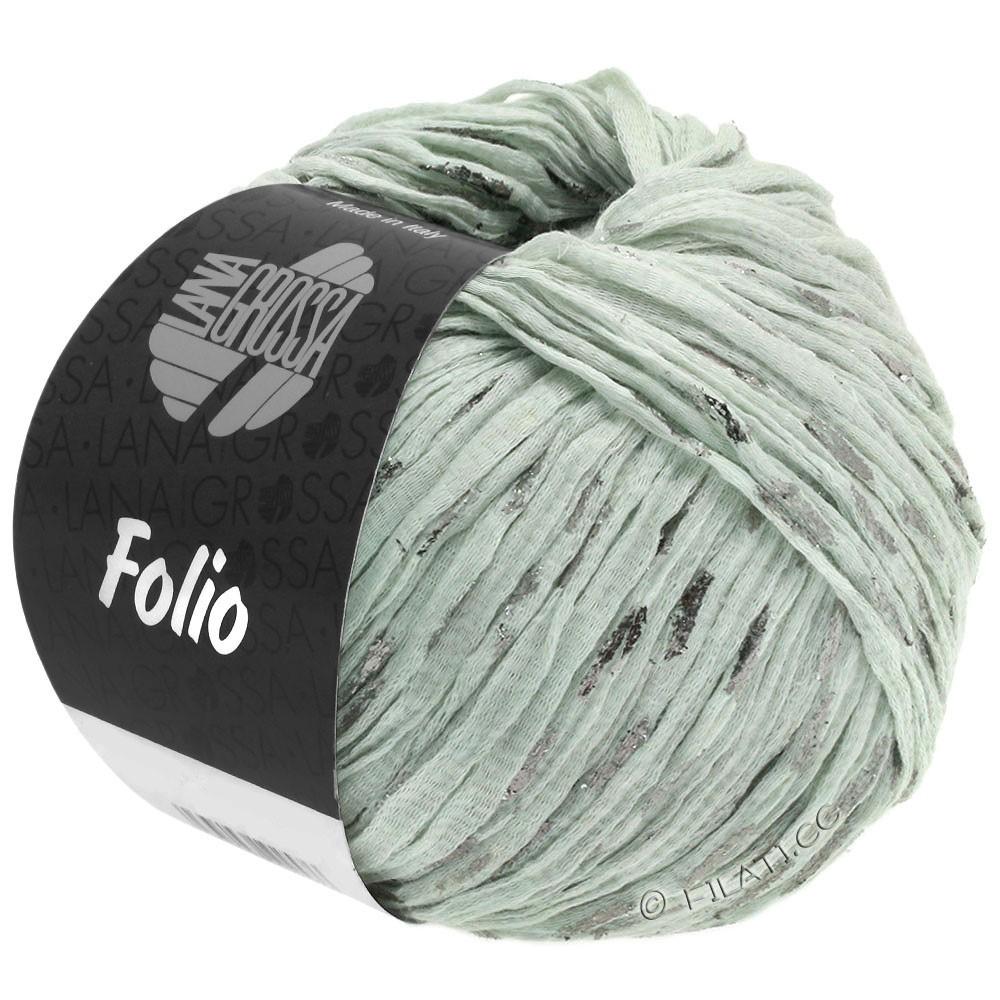 Lana Grossa FOLIO | 02-gray green/silver