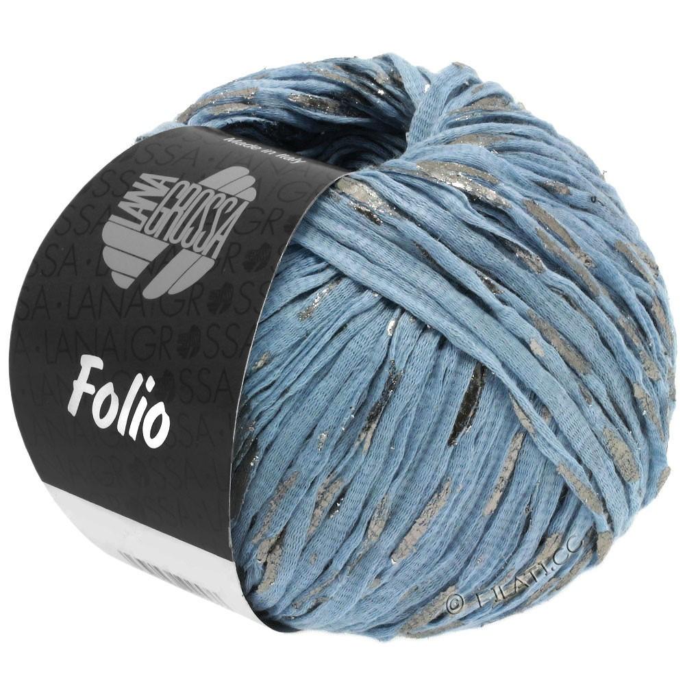 Lana Grossa FOLIO | 04-light blue/silver