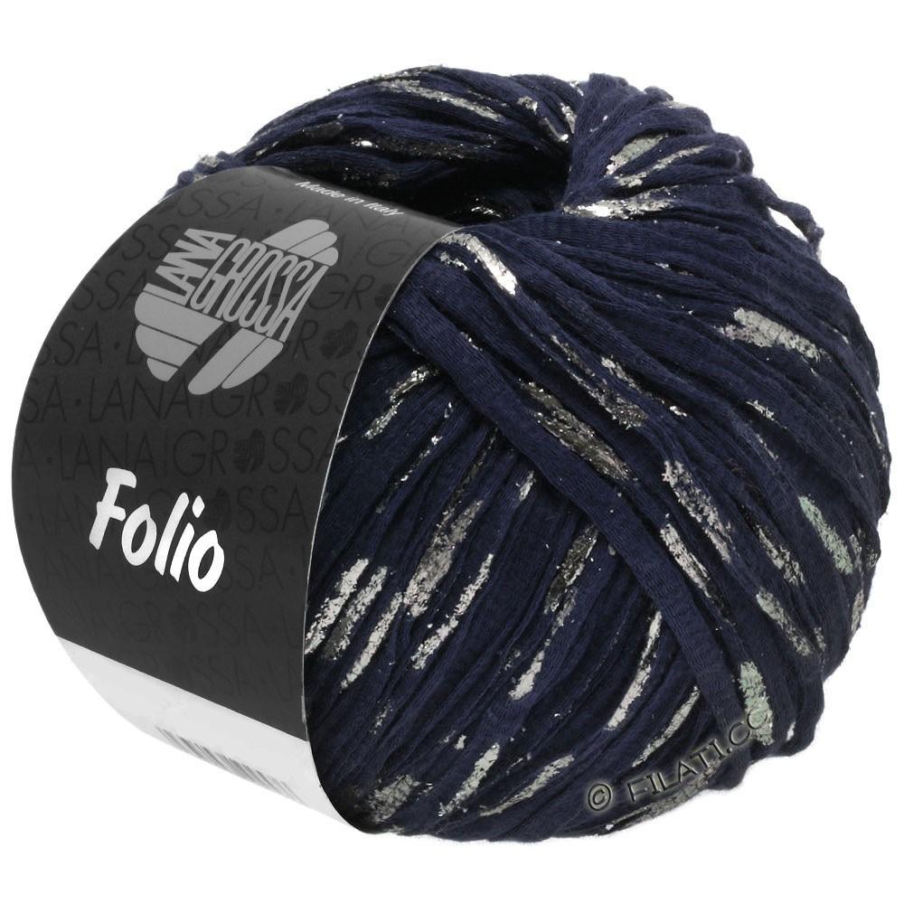Lana Grossa FOLIO | 05-dark blue/silver