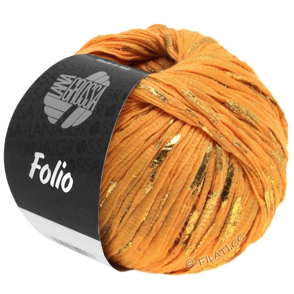 Lana Grossa FOLIO | 09-orange/gold