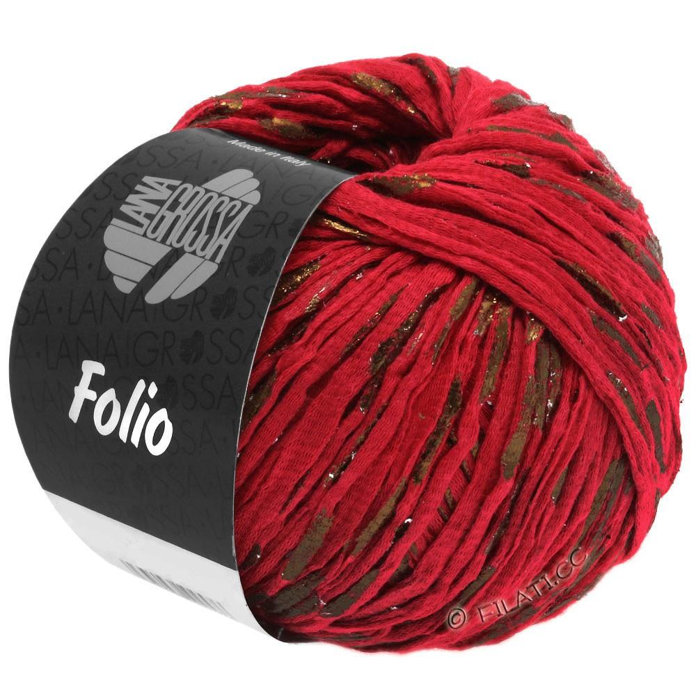 Lana Grossa FOLIO | 12-red/copper
